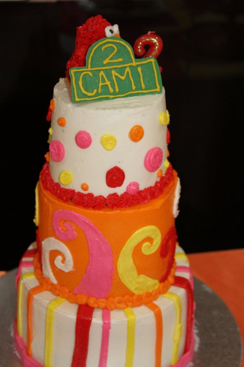Camis Elmo Inspired 2nd Birthday Party Ellery Designs