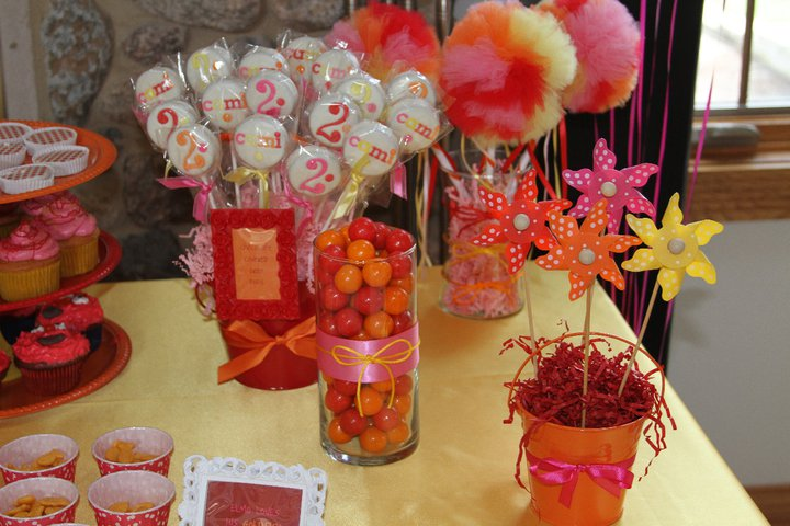 Camis Elmo Inspired 2nd Birthday Party Ellery Designs