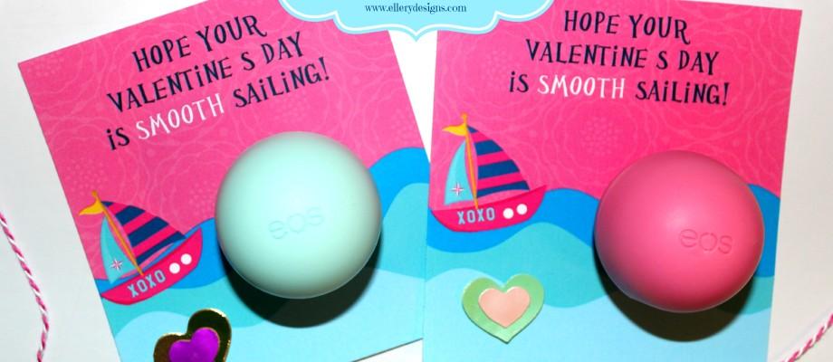 EOS Lip Balm Smooth Sailing Valentine's – Free Printable