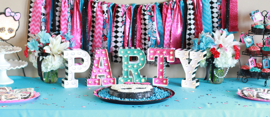 Monster High Party – Cami's 6th Birthday!
