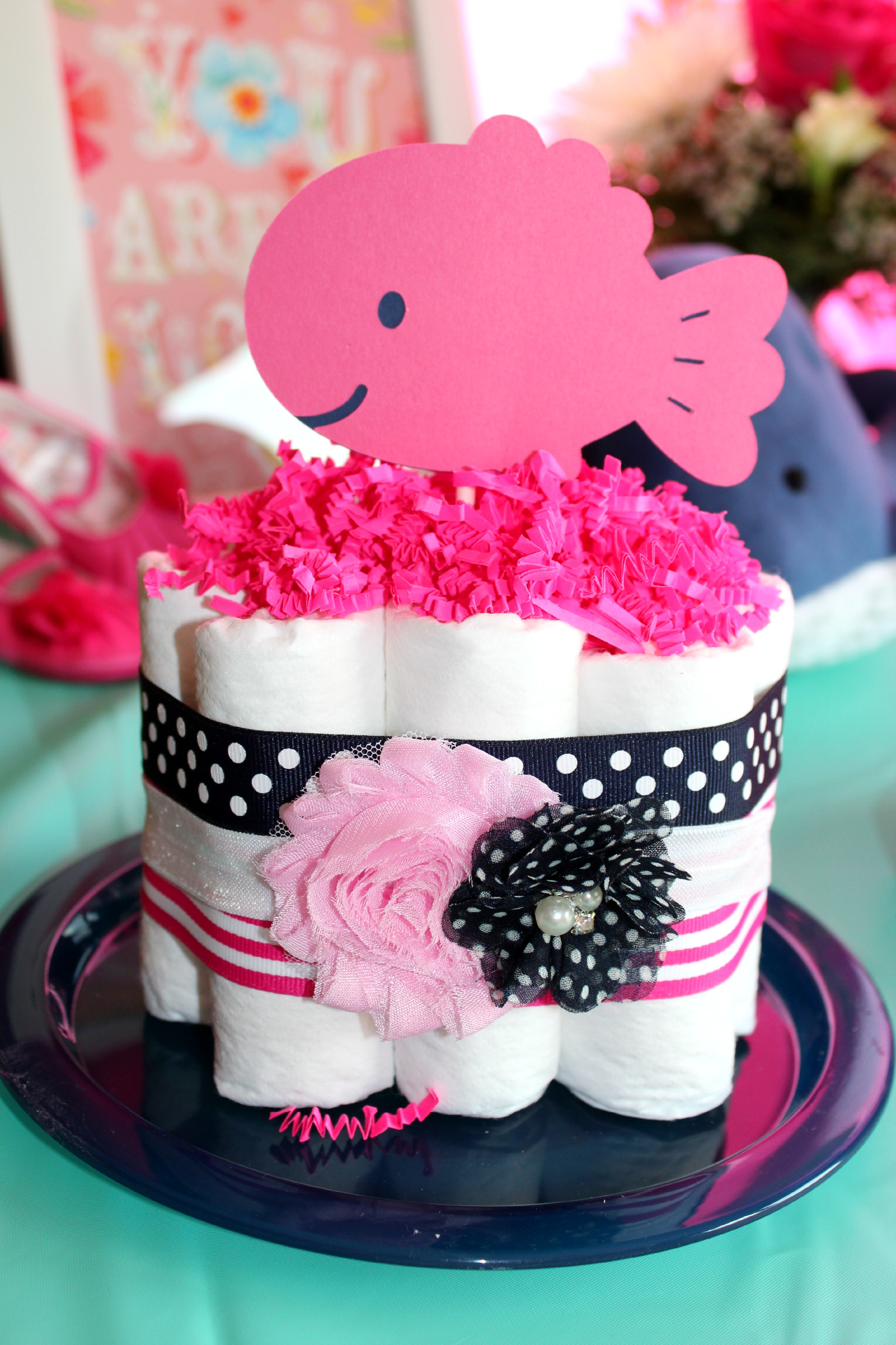 It\'s a Girl - Navy + Pink Nautical Baby Shower – Ellery Designs