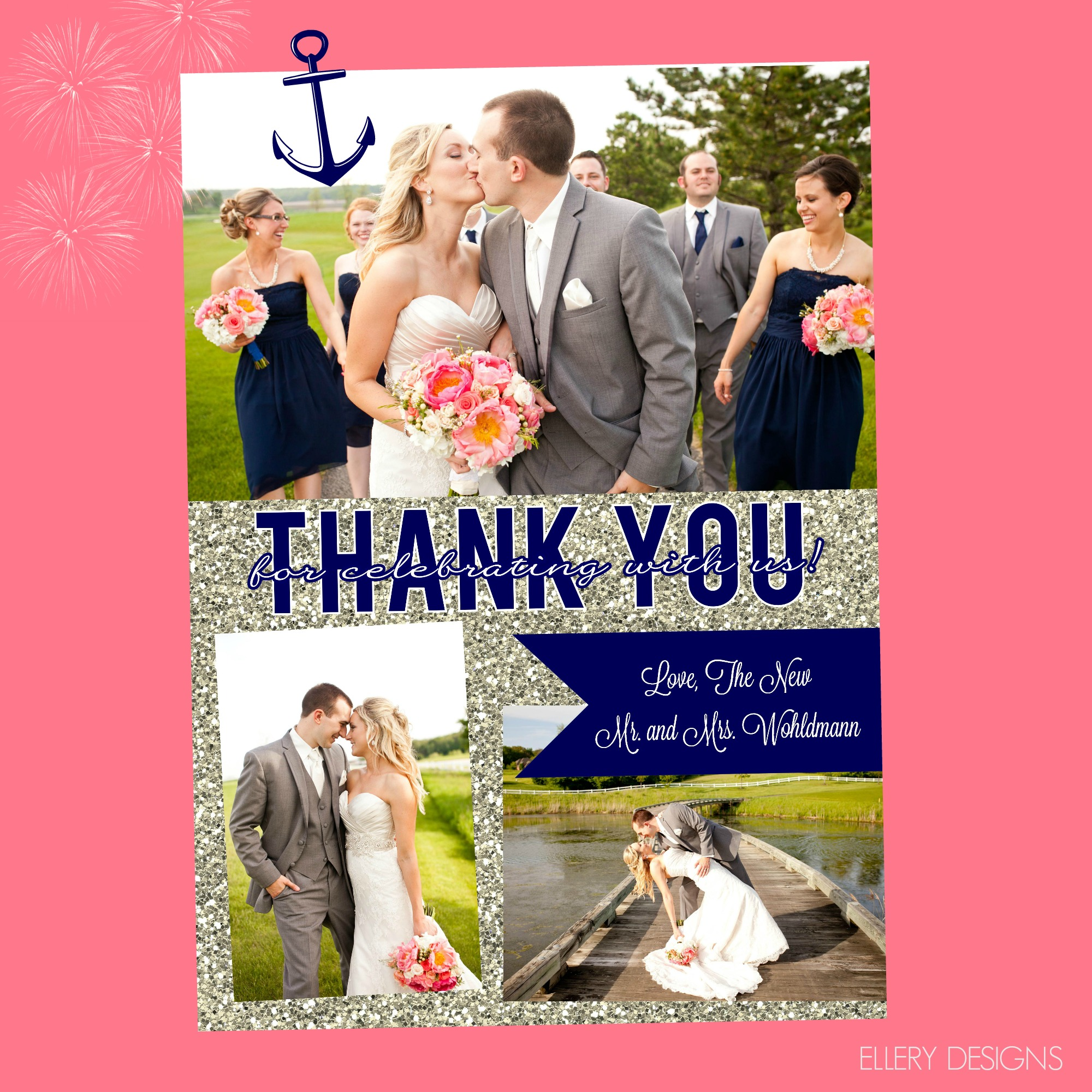 Wedding Thank You Cards