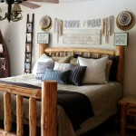 Rustic Glam Bedroom Makeover