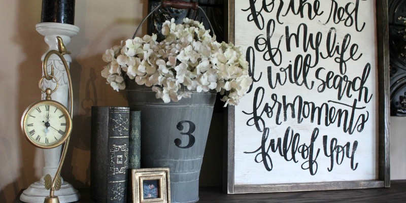 DIY Faux Fireplace + Mantel