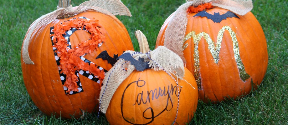 DIY No Carve Pumpkins for Kids