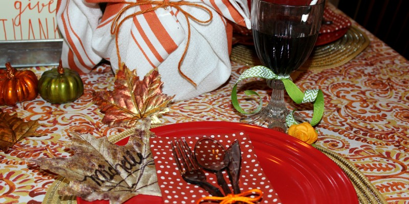 Fall Tablescape by Ellery Designs