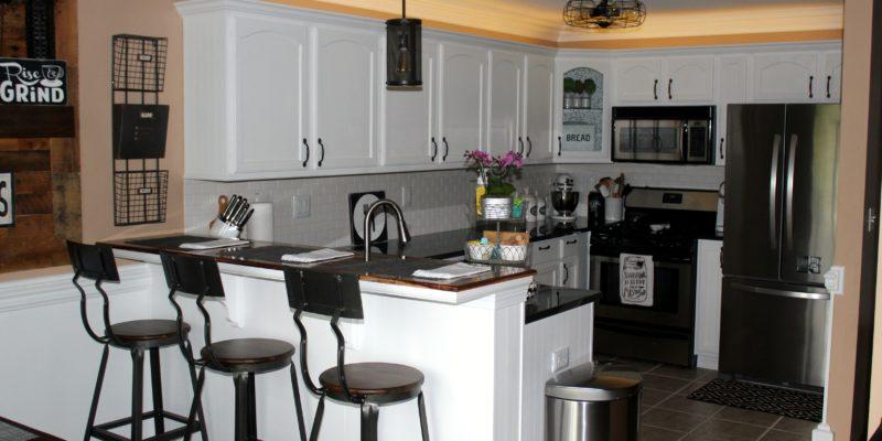Complete Kitchen Makeover - ElleryDesigns.comComplete Kitchen Makeover - ElleryDesigns.com
