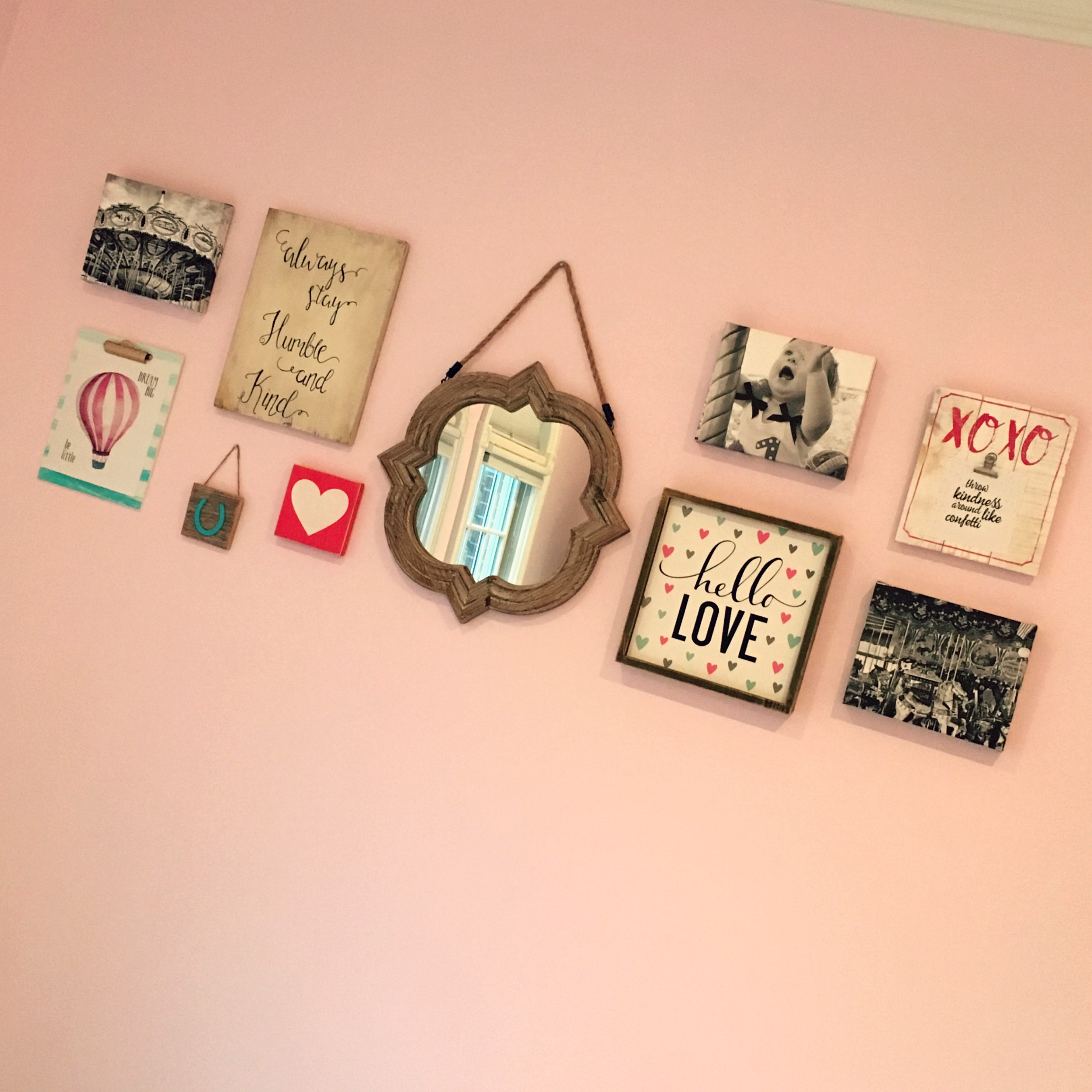 Girl Toddler Room & Gallery Wall