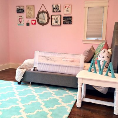 Toddler Girl Room & Gallery Wall
