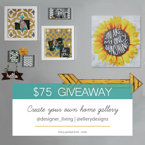 Designer Living $75 Giveaway