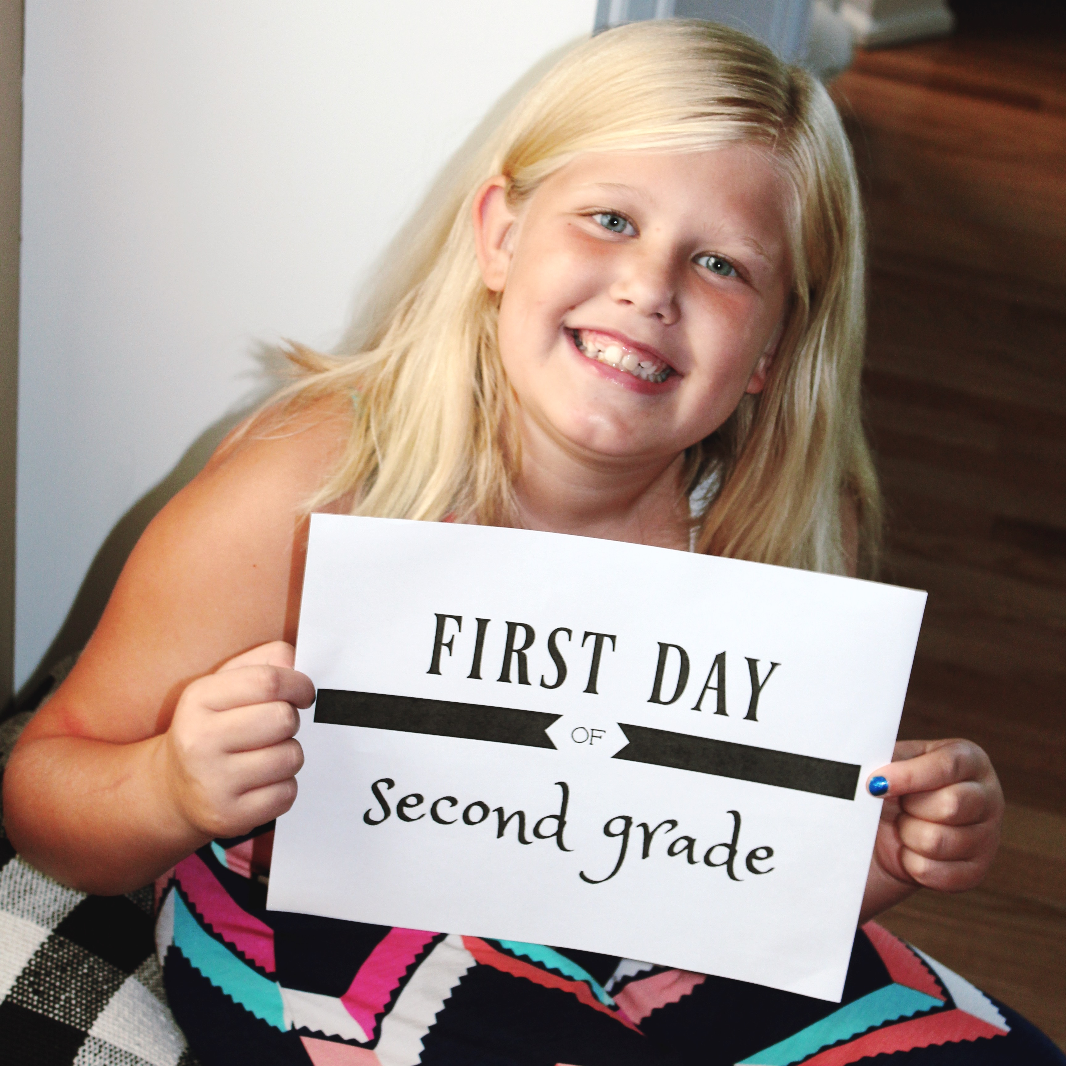 First Day of School Free Printables ellerydesigns.com