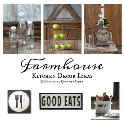 Farmhouse Kitchen Favorites at Barn Owl Primitives