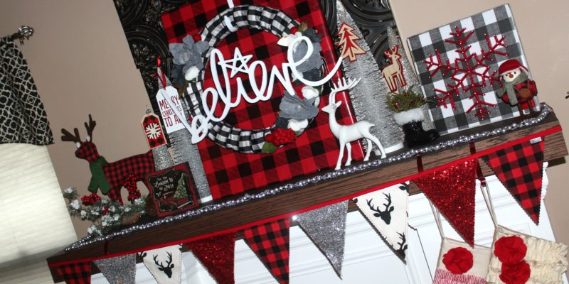 Ellery Designs Holiday Mantel 2016