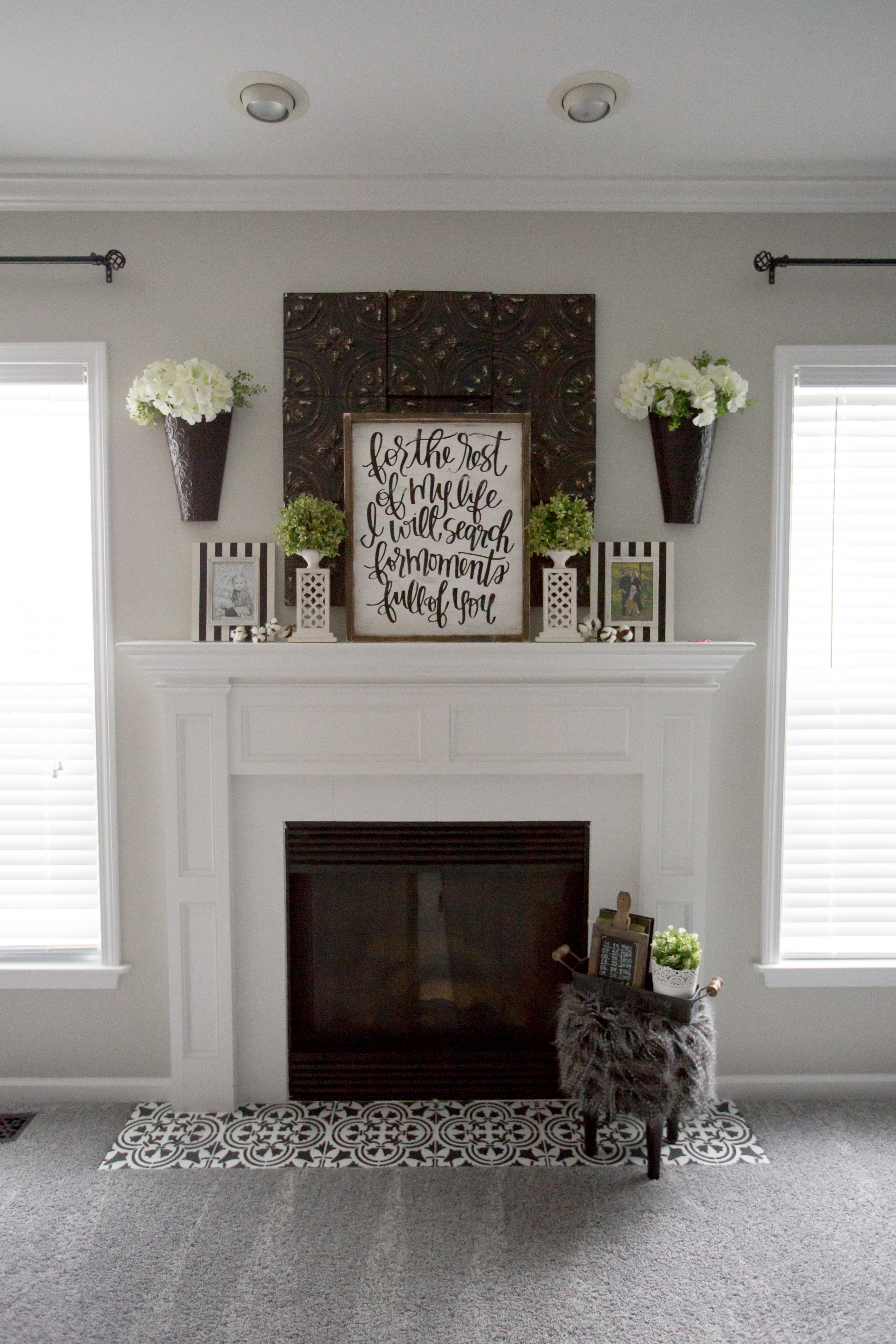 slate and tiled hearth pin fireplace pinterest surround wall