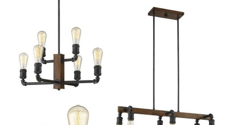 My favorite farmhouse light fixtures from Menards