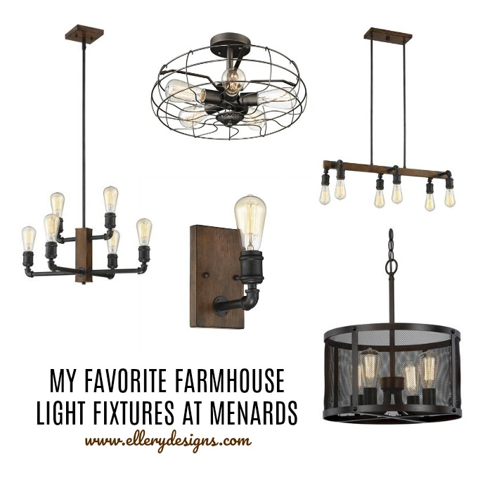 My favorite farmhouse light fixtures from menards ellery designs with one of our fixtures i wanted to be able to have one post dedicated to lighting so you all can easily find them now lets get to these pretties mozeypictures Images