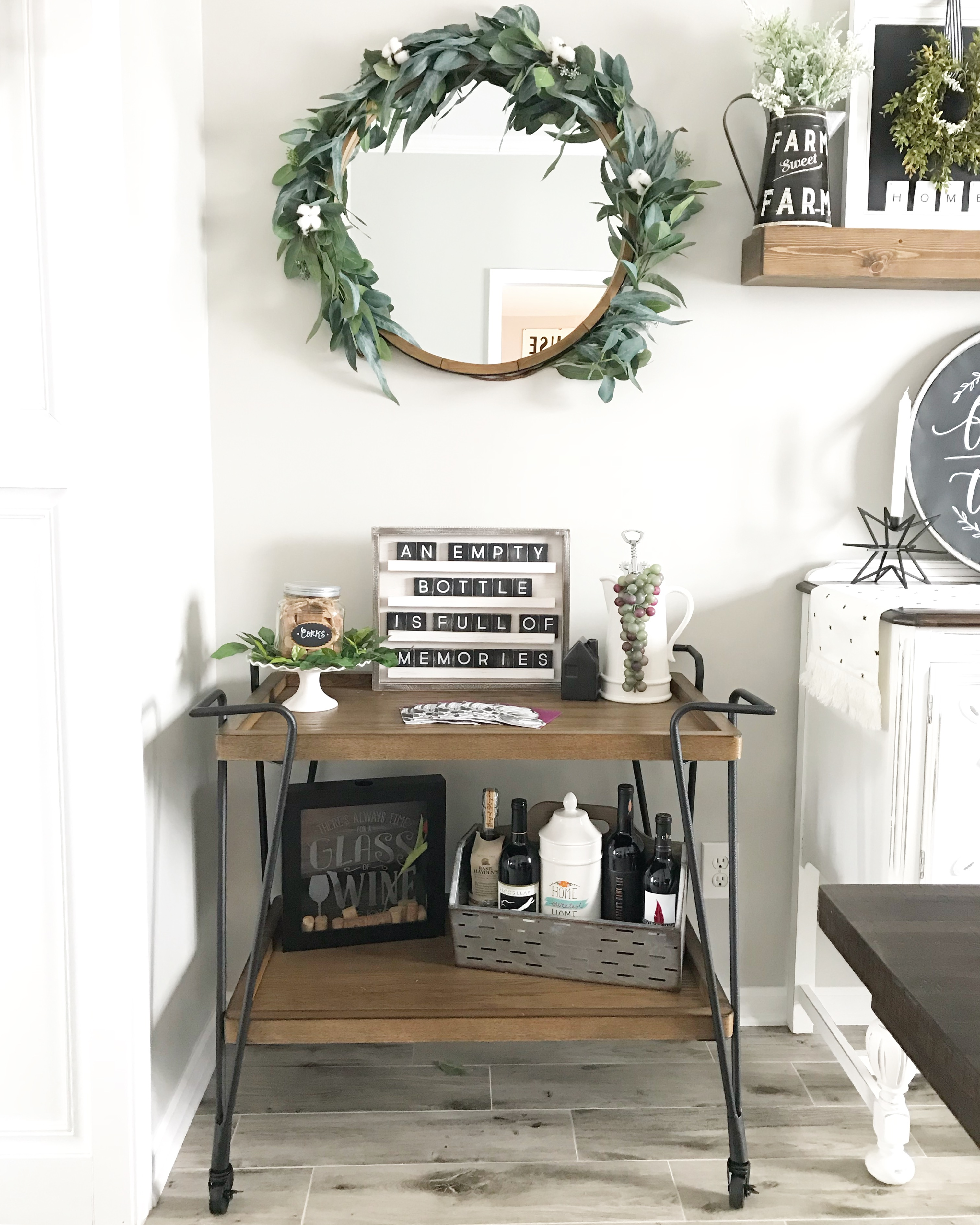 AFFORDABLE BAR CART STYLING Top Interior Bloggers In 2019