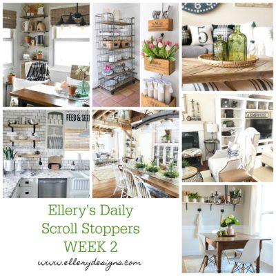 Ellery's Daily Scroll Stoppers: Week 2