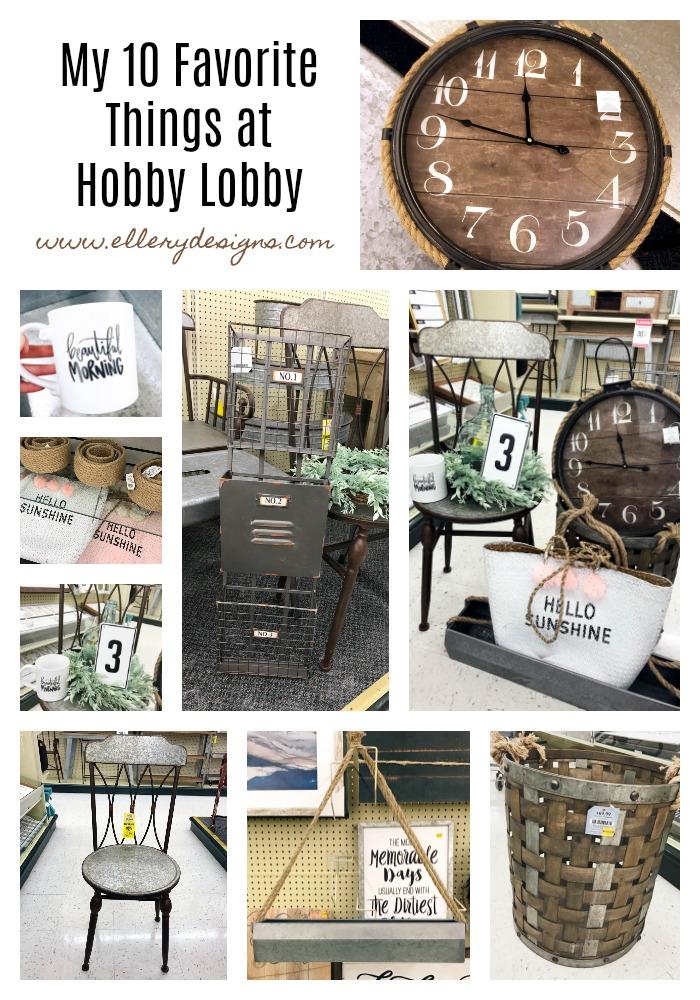 My 10 Favorite Things At Hobby Lobby Ellery Designs