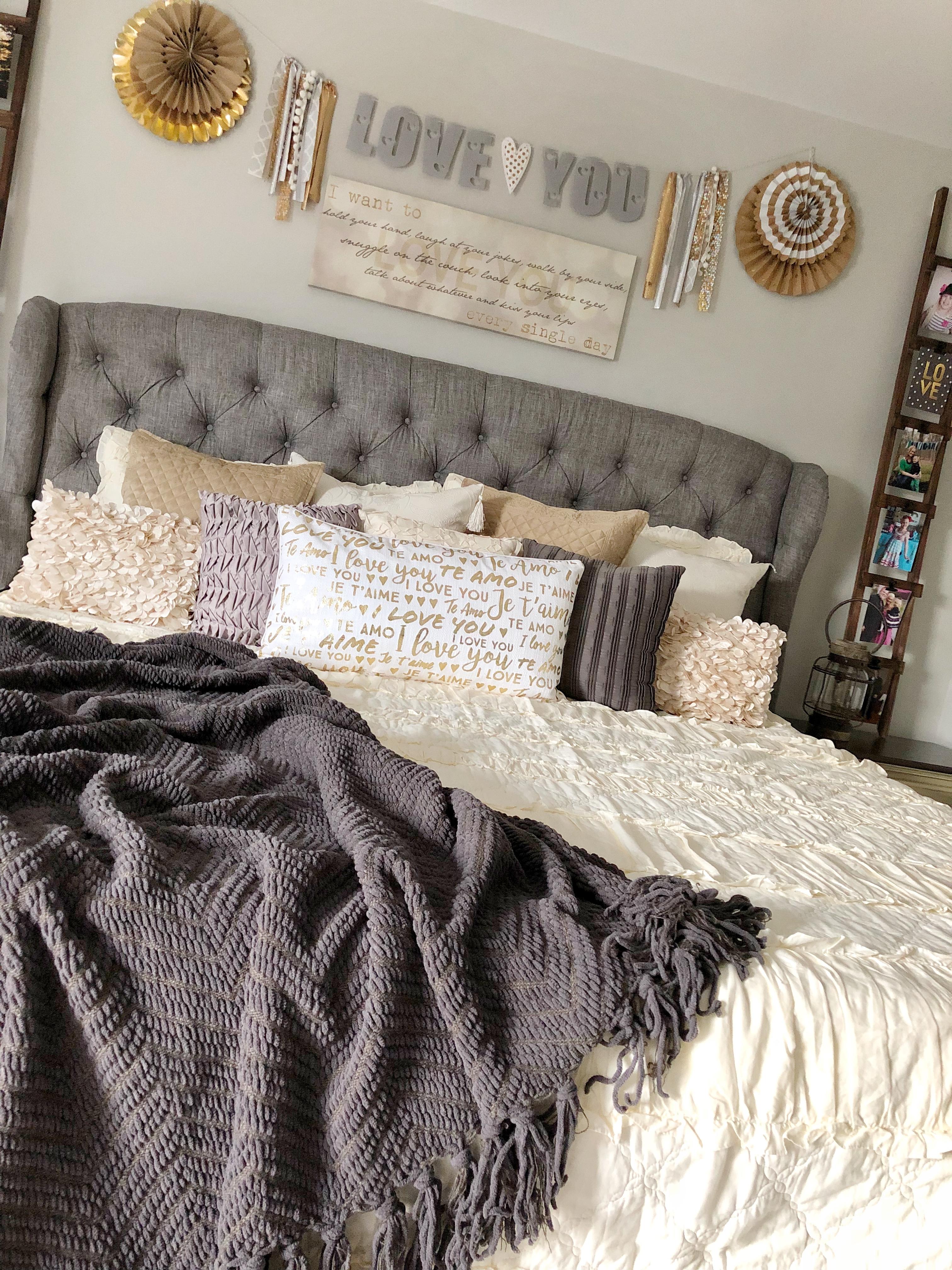 Cozy Glam Master Bedroom Refresh Ellery Designs