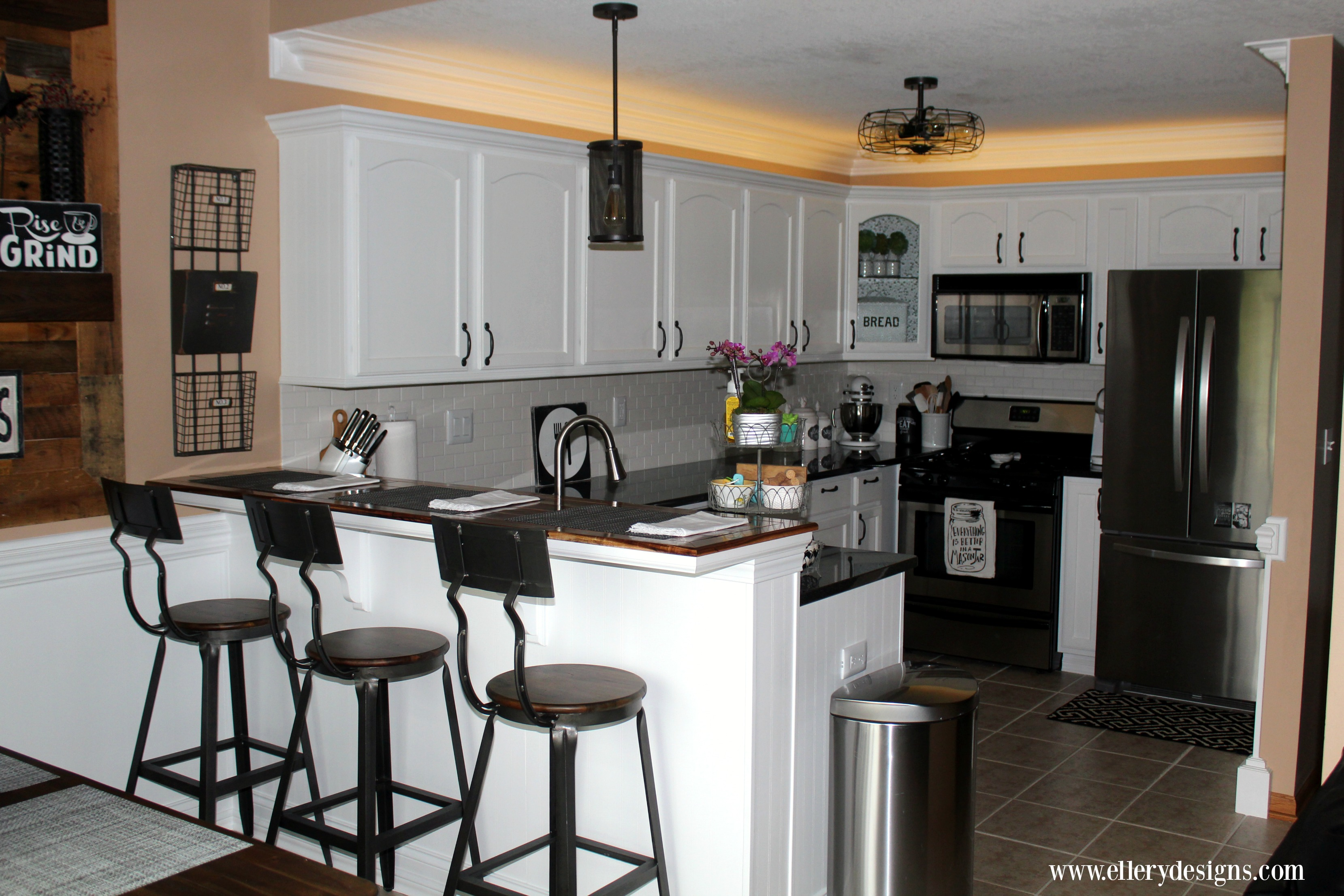 Our DIY Kitchen Remodel - The Full Reveal - Ellery Designs